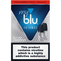 My Blu Intense Pod Strawberry Mint 18mg 2 pack