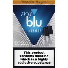 My Blu Intense Pod Tobacco 18mg 2 pack eCigarettes