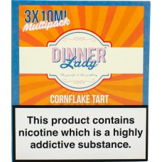 Dinner Lady Cornflake Tart Sub Ohm E-Liquid 3 x 10ml Liquids