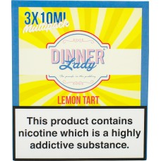 Dinner Lady Lemon Tart Sub Ohm E-Liquid 3 x 10ml Liquids