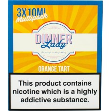 Dinner Lady Orange Tart Sub Ohm E-Liquid 3 x 10ml Liquids