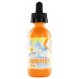 Summer Sun Tan Mango Dinner Lady Short Fill 50ml Liquids