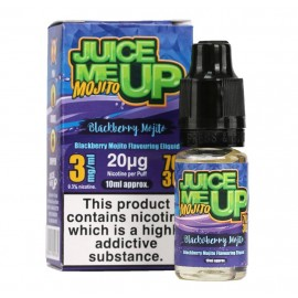 Juice Me Up Blackberry Mojito Sub Ohm E-Liquid Liquids