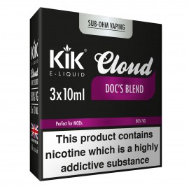 30ml Dripper Kik Cloud Vape Doc Blend Sub Ohm E-Liquid LIQUIDS