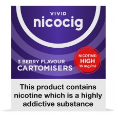 Nicocig Berry Cartomiser Refills Cartomisers