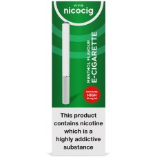 Nicocig Disposable Menthol Flavour Electronic Cigarettes High Strength Disposables