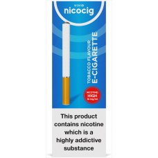 Nicocig Disposable Tobacco Flavour Electronic Cigarettes High Strength Disposables