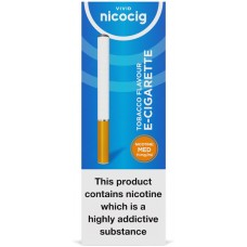 Nicocig Disposable Tobacco Flavour Electronic Cigarettes Medium Strength Disposables