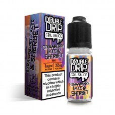 Double Drip Strawberry Laces & Sherbet Coil Sauce E-Liquid 10ml Liquids