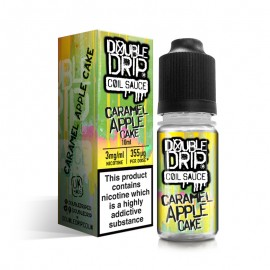 Double Drip Caramel Apple Coil Sauce E-Liquid 10ml Liquids