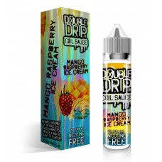 Double Drip Mango Raspberry Ice Cream Short Fill 50ml Liquids