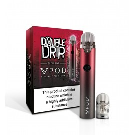 Vapouriz VPOD Double Drip Red Kit Box Mods & Pro Kits