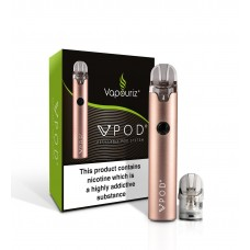 Vapouriz VPOD Double Drip Rose Gold Kit Box Mods & Pro Kits