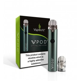 Vapouriz VPOD Double Drip Teal Kit Box Mods & Pro Kits
