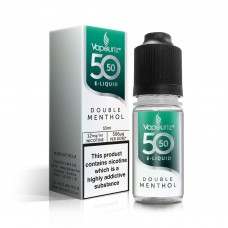 50/50 Vapouriz Double Menthol E-Liquid 10ml Liquids