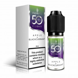 50/50 Vapouriz Apple and Blackcurrant 10ml Liquids
