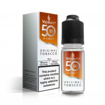 50/50 Vapouriz Original Tobacco E-Liquid 10ml