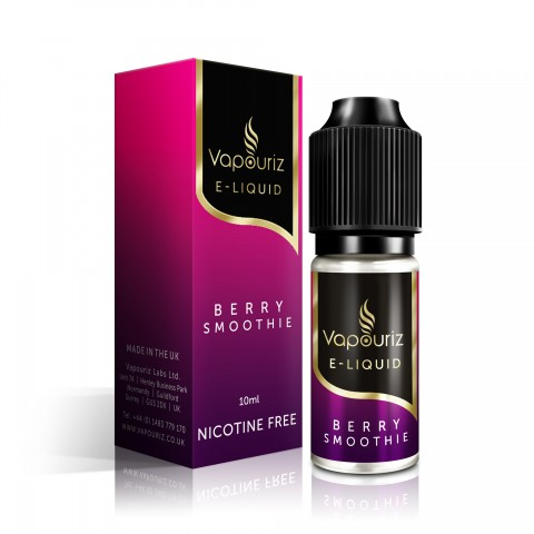 Vapouriz Berry Smoothie Nicotine Free E-Liquid 10ml LIQUIDS