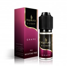 Vapouriz Grape Nicotine Free E-Liquid 10ml LIQUIDS