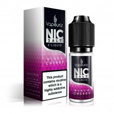 Vapouriz Nic Salts Black Cherry Liquids