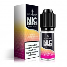 Vapouriz Nic Salts Pink Lemonade 10ml Liquids