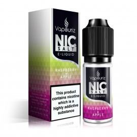 Vapouriz Nic Salts Raspberry and Apple 10ml Liquids