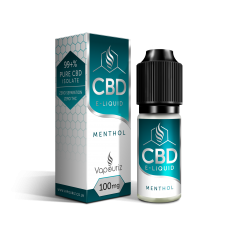 Vapouriz CBD Menthol 10ml Health Care