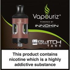 Vapouriz VSWITCH Tank Rose Gold Liquids
