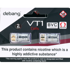 Debang D-Box VT1 Coils 2 pack Mods & Pro Kits