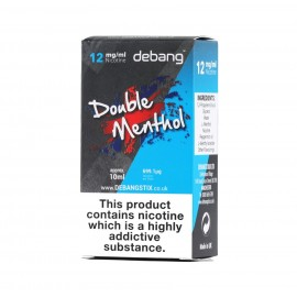 Debang Double Menthol E-Liquid 10ml Liquids