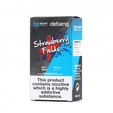 Debang Strawberry Fields E-Liquid 10ml Liquids